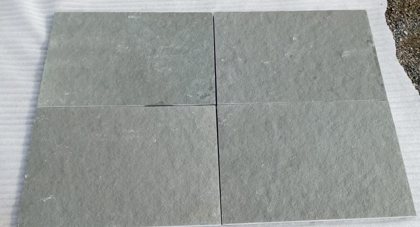 Limestone Grey Natural - Dry Tiles