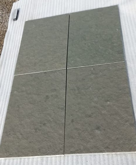 Lime Grey Natural - Wet Tiles