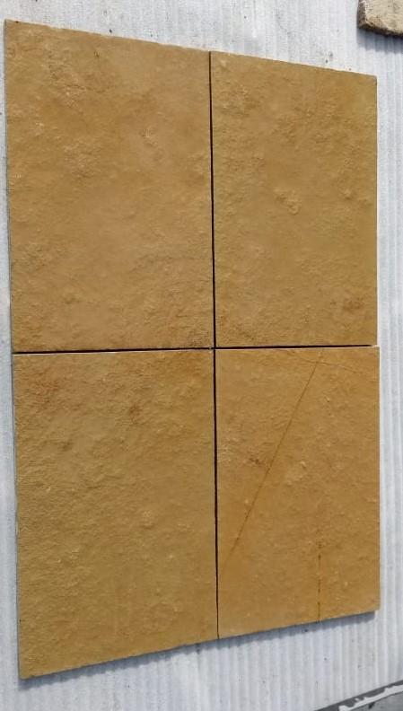 Limestone Yellow Natural - Wet Tiles