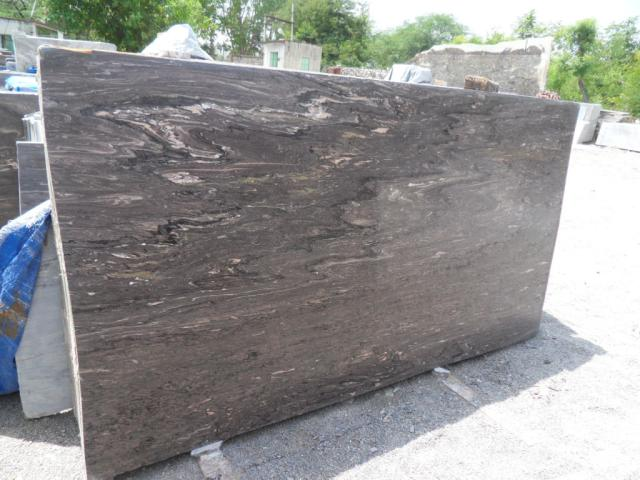 Scorpion Brown Marble Polished Slabs