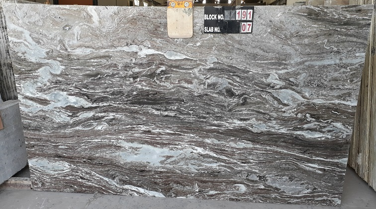 Indian Fantasy Brown Dark Marble Slabs