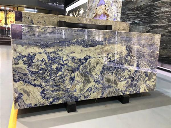 Luxury Bolivia Blue Quartzite Slabs