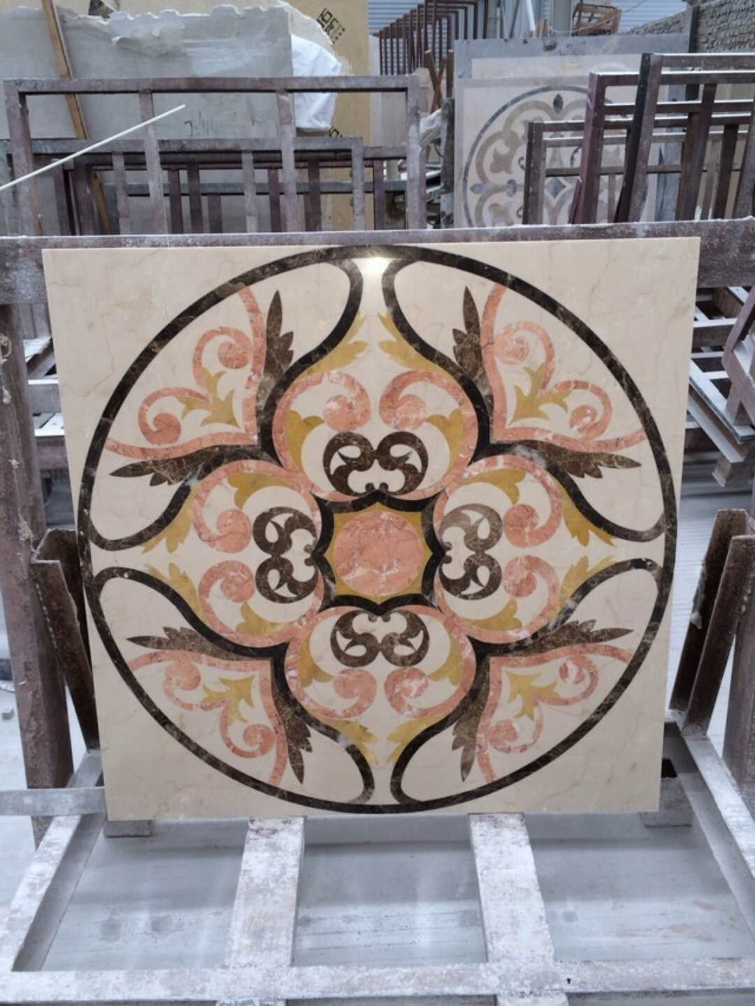 Waterjet Marble Tile