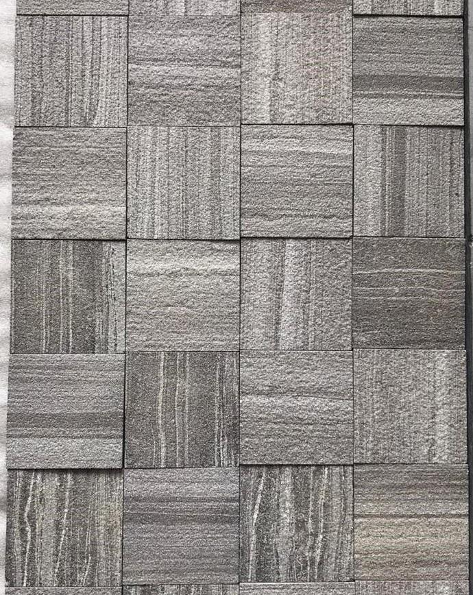M Black Line - Shot Blast  Brushed - 100x100 mm Tiles