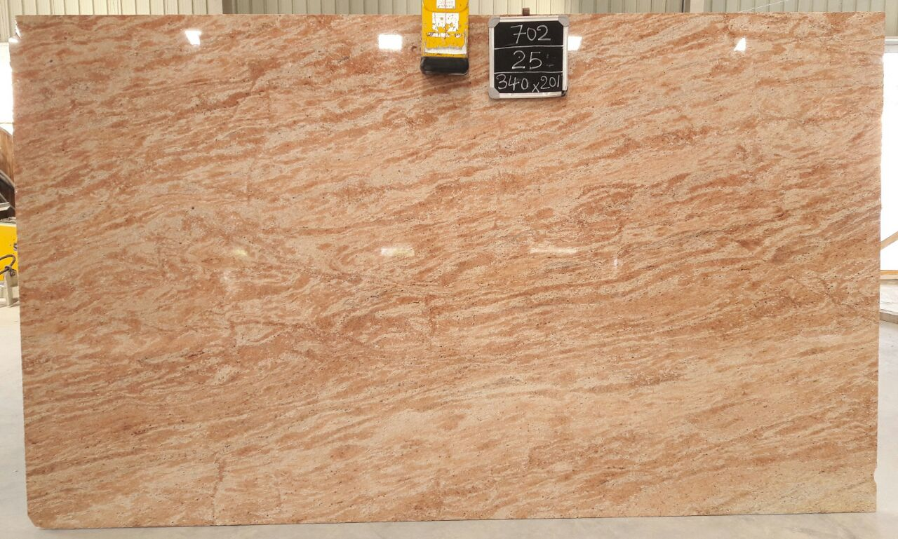 MG-702 Astoria Pink 2cm-62 Slabs Gross size-340 x 201