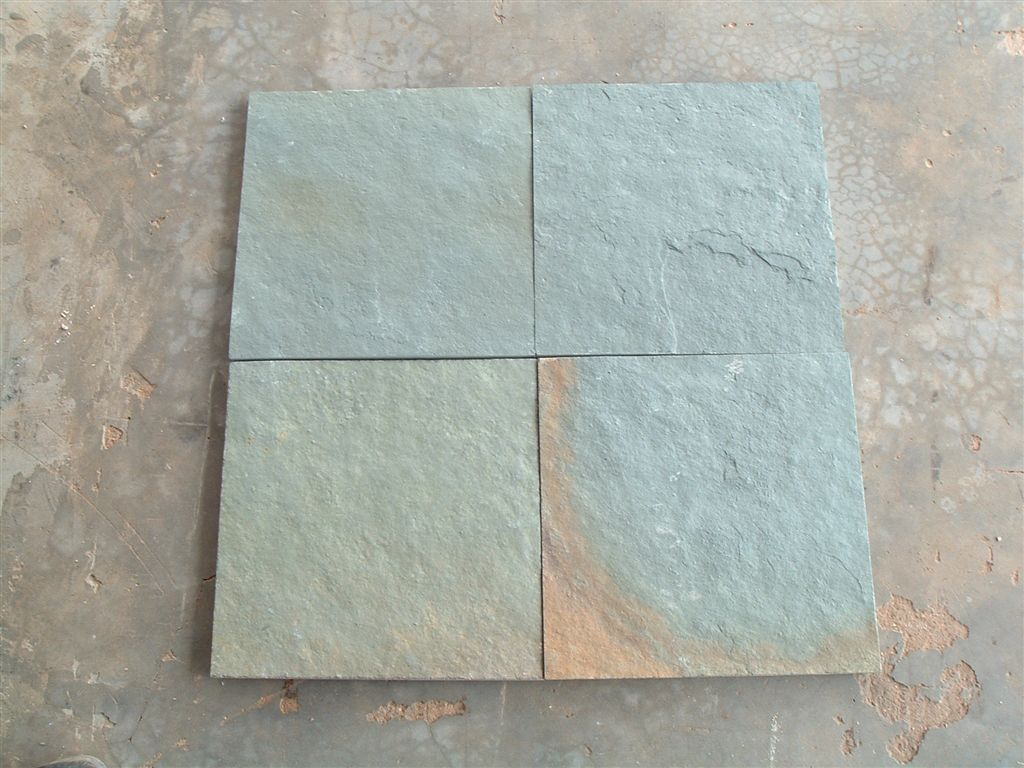 M Green Rustic Slate Tiles