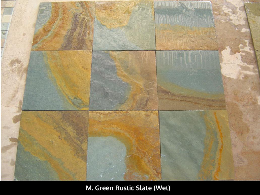 M. Green Rustic Slate