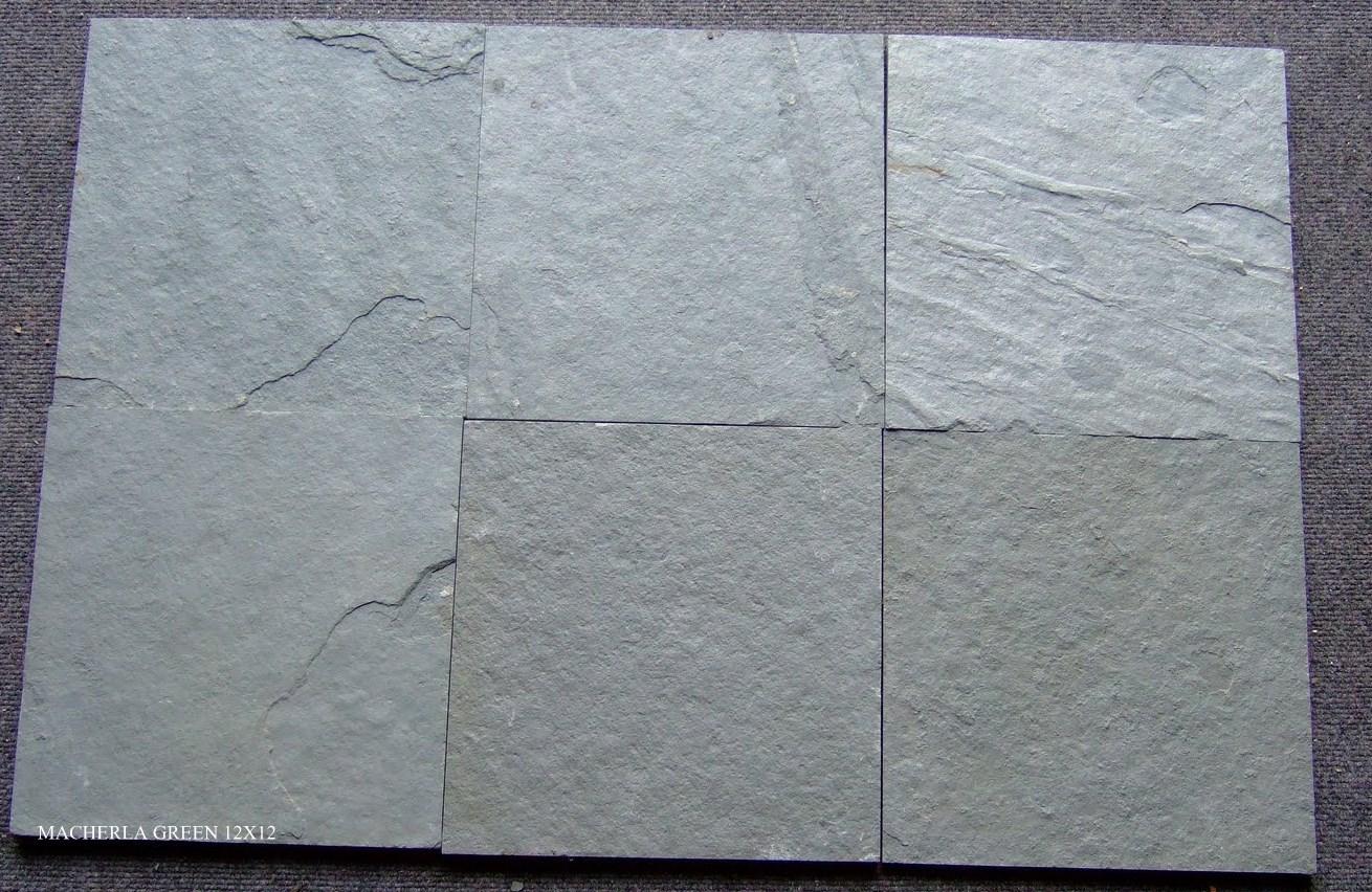 M Green Slate Tiles