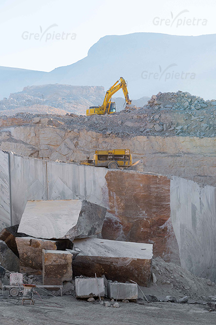 Iran greypietra blocks marble