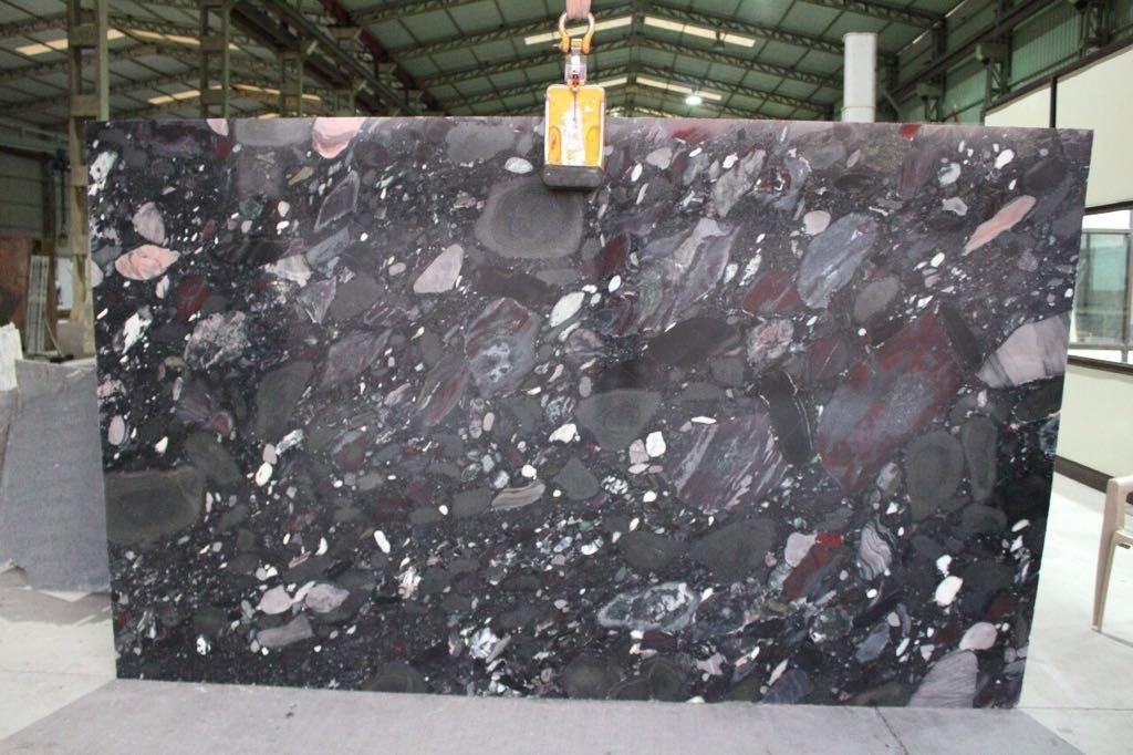 Mosaic Black Granite