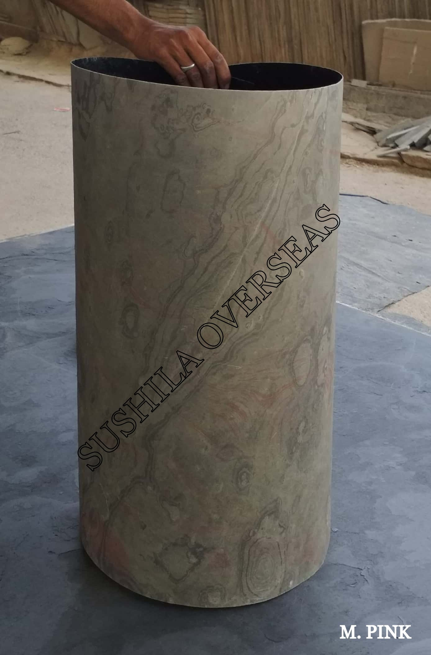 1 mm thick flexible stone veneer sheet