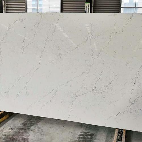 New design calacatta white artificial quartz slabs China