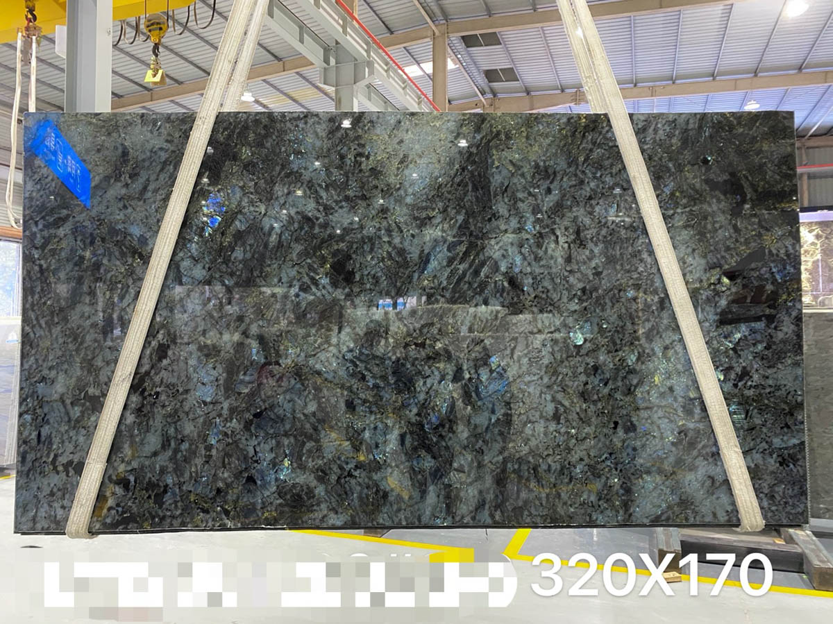 Madagascar Blue Granite Polished Slabs