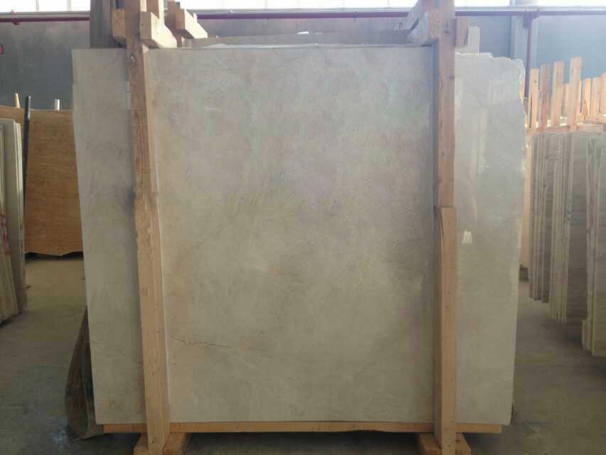 Magnolia beige marble slabs