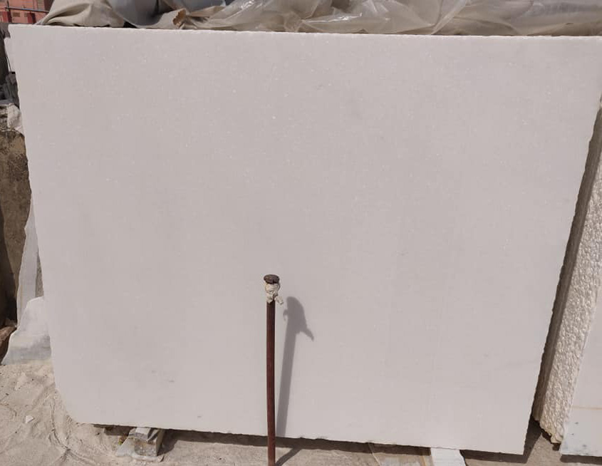 Polished Makrana White Marble Slabs