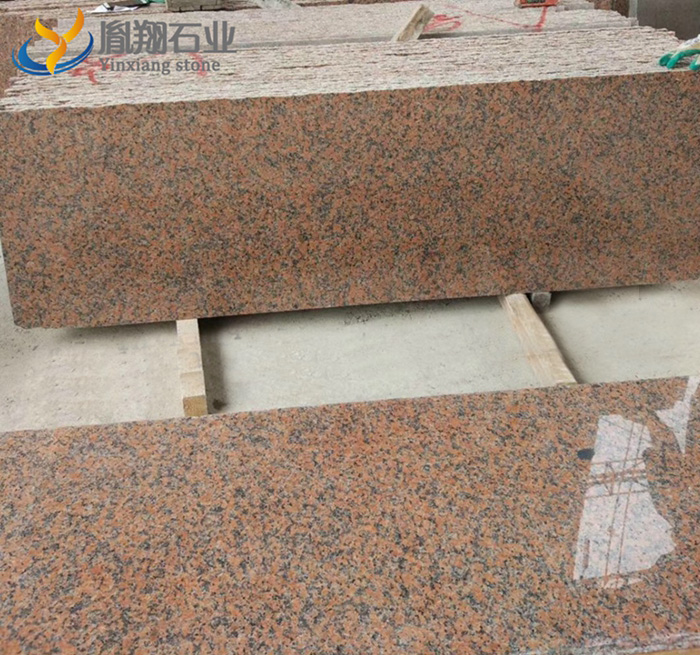 Maple Red Granite Slabs Tiles Blocks are available