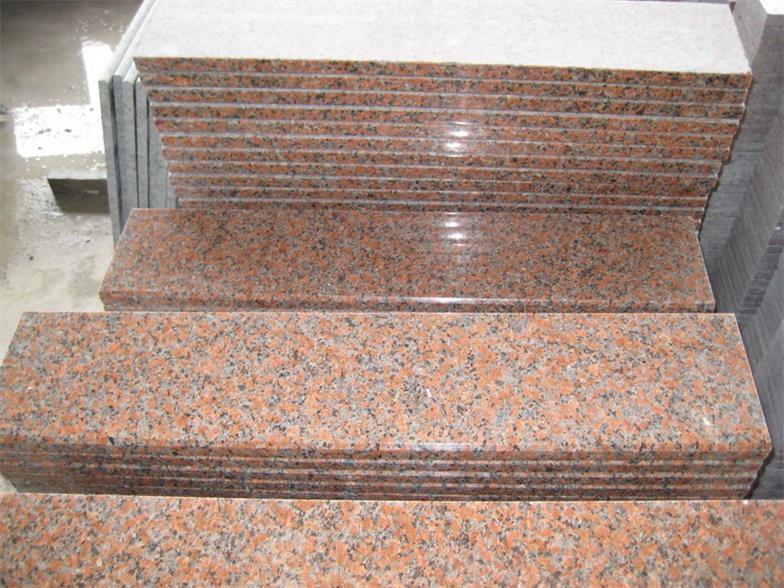 G562 Maple Red Granite Slabs Tiles
