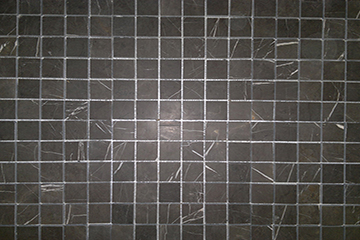Polished Pietra Grey Marble Mosaics