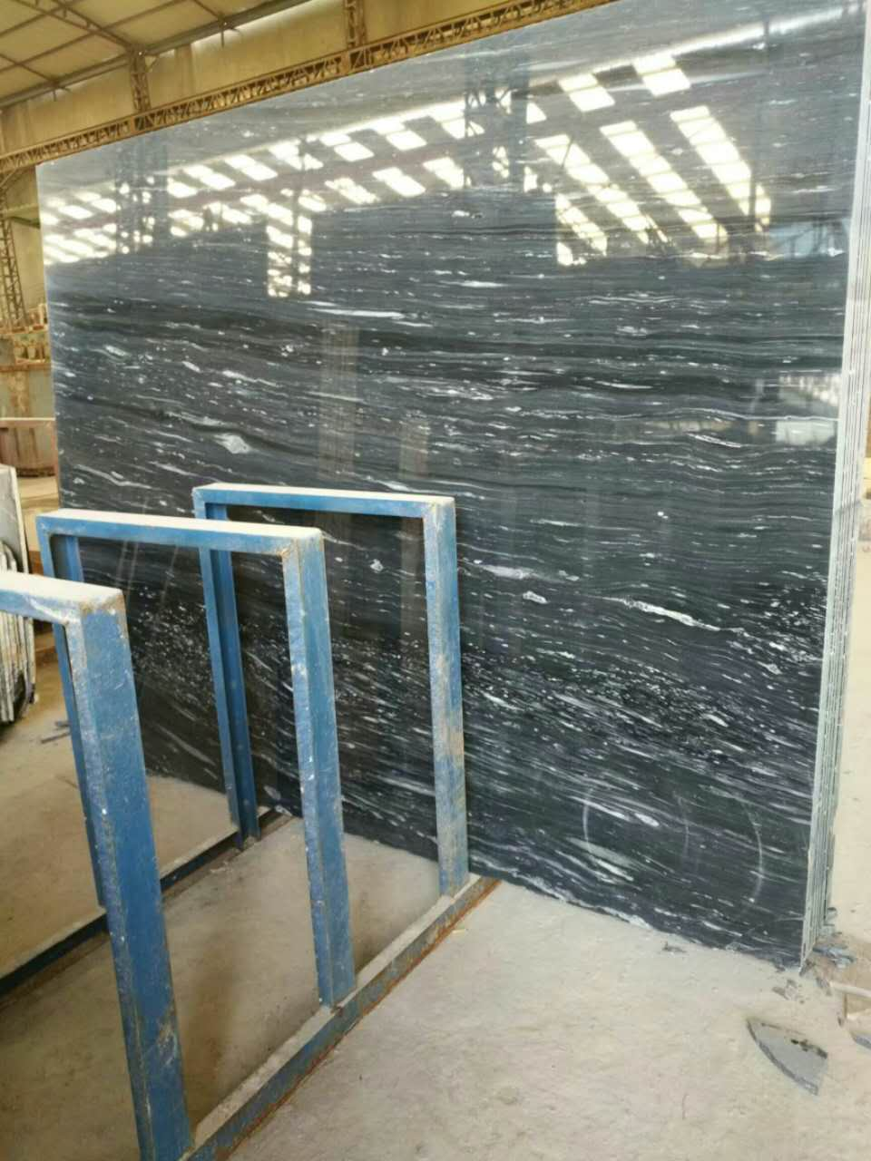Meter steel green marbleChinese marble