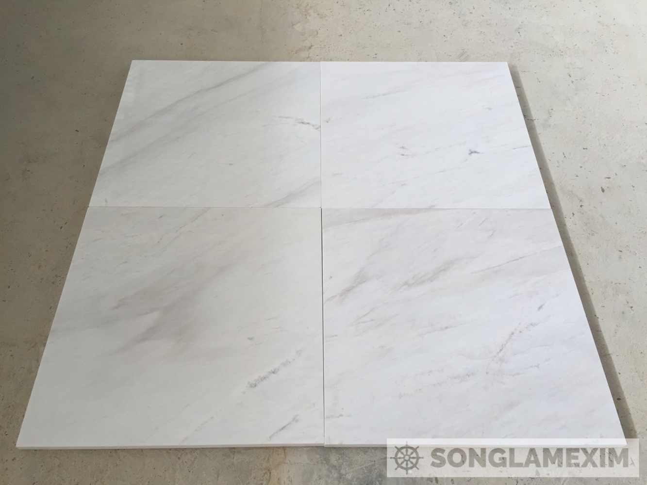 POLISHED MILKY WHITE MARBLE