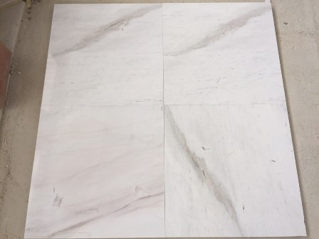 Milk White Marble Tiles and Slabs White Polished Marble Floor Tiles