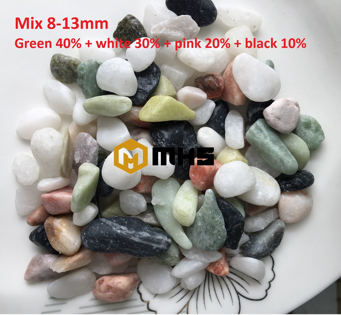 MIXED TUMBLED PEBBLE STONE