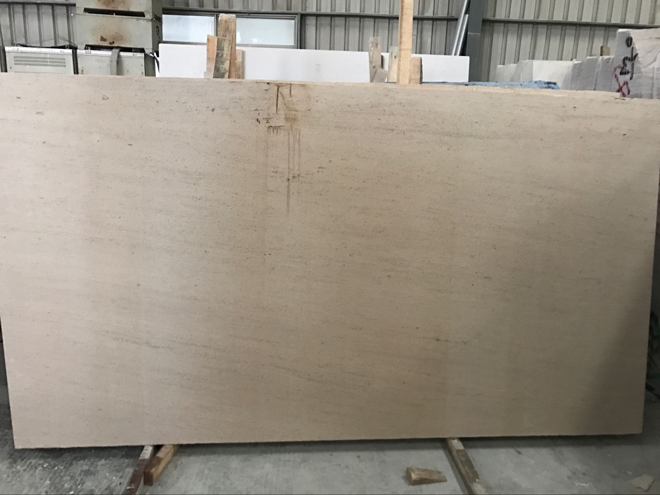 Moca Cream Limestone Slabs & Tiles Beige Limestone Polished For Floor & Wall
