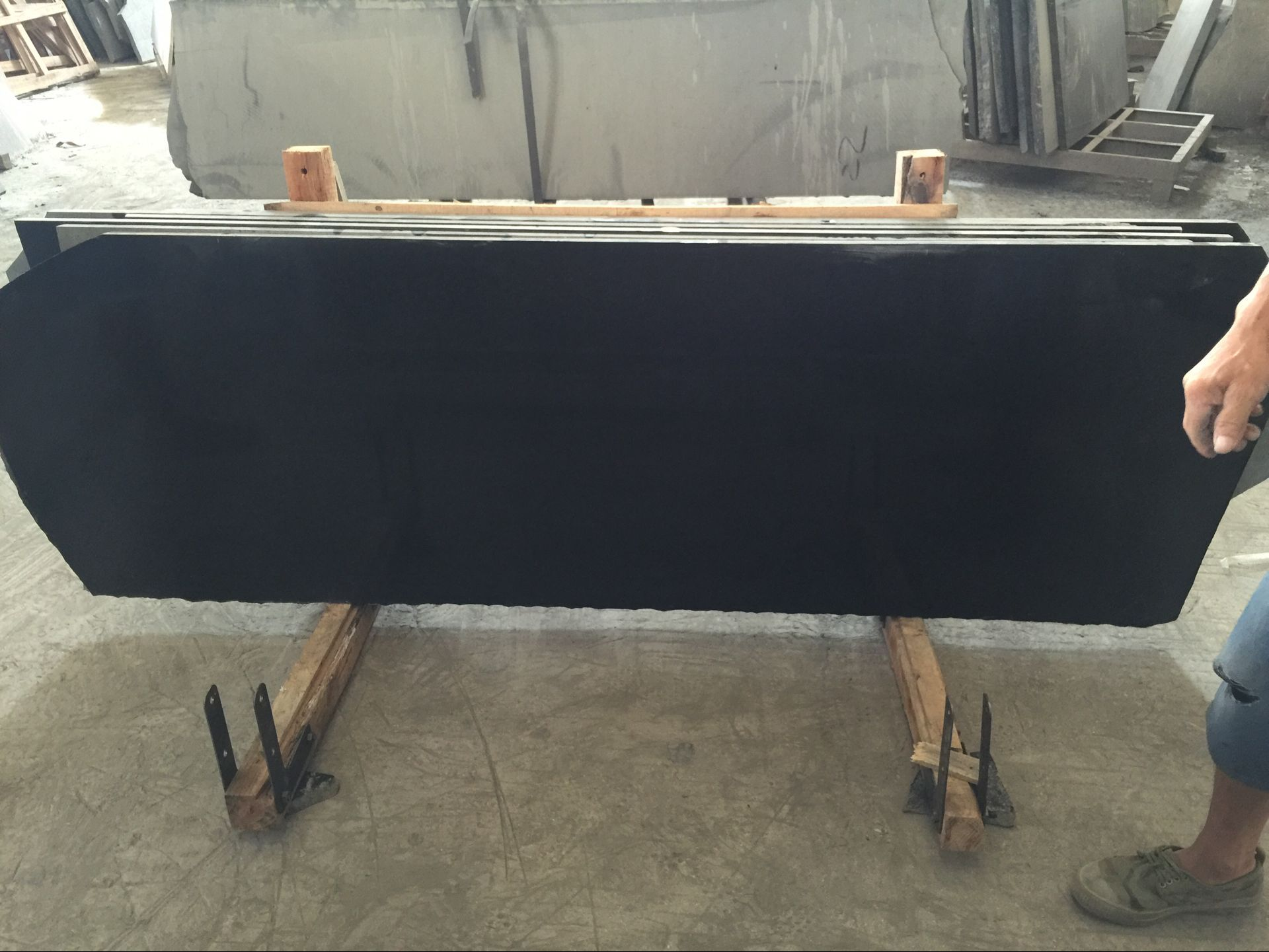 Mongolian Black Granite
