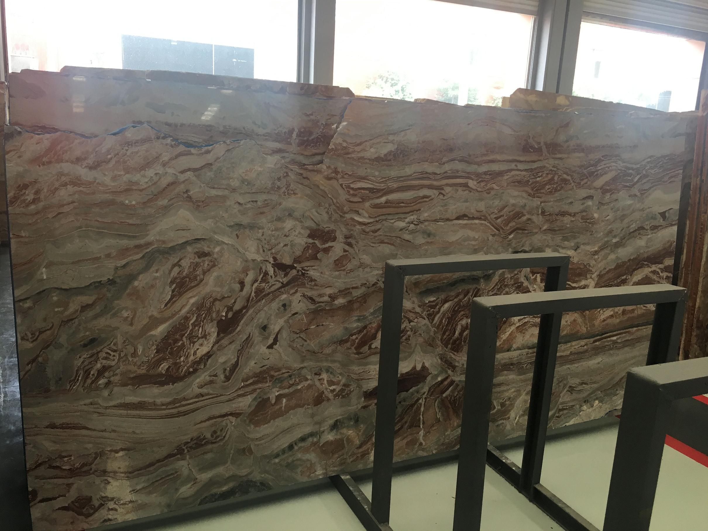 Monica Red Marble Slab & Tile Italy Red Marble Floor & Wall Slabs
