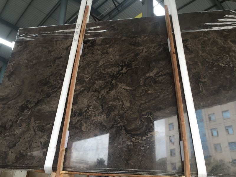 Brown Moon Valley Marble Slabs for Wall and Floor Covering