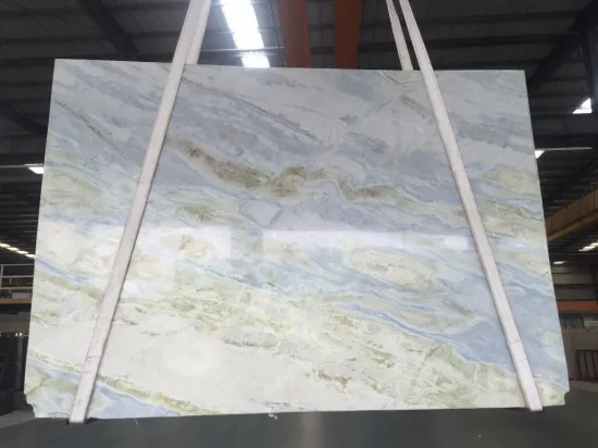 China Moon River Blue Marble Slab