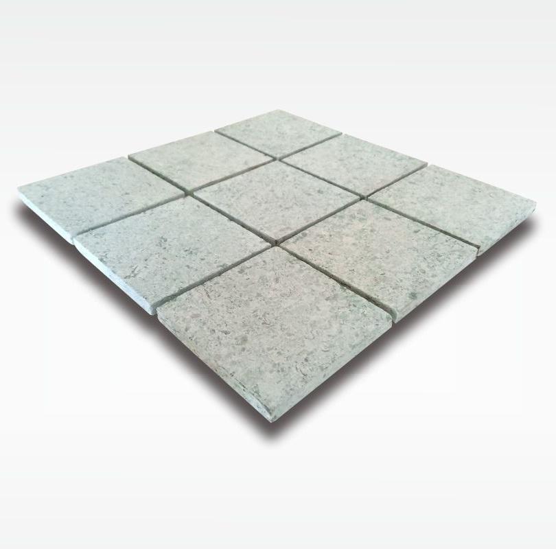 Mosaic Green Sukabumi Stone - Quartzite - 10x10cm - Dry
