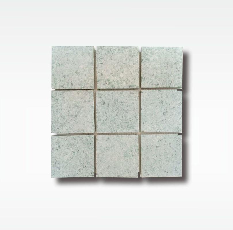 Green Sukabumi Stone Mosaic - Quartzite - 10x10cm - Dry
