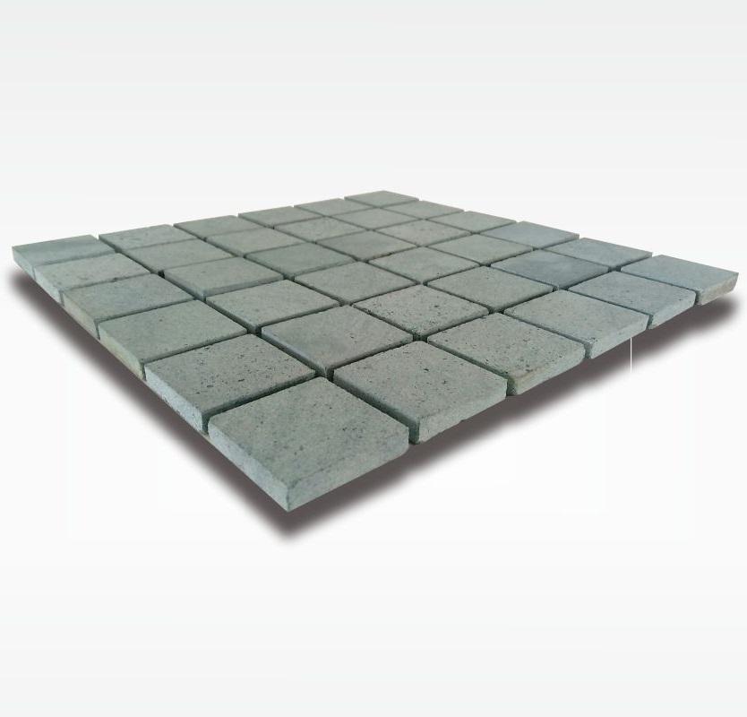 Mosaic Green Sukabumi Stone - Quartzite - 5x5cm - Dry