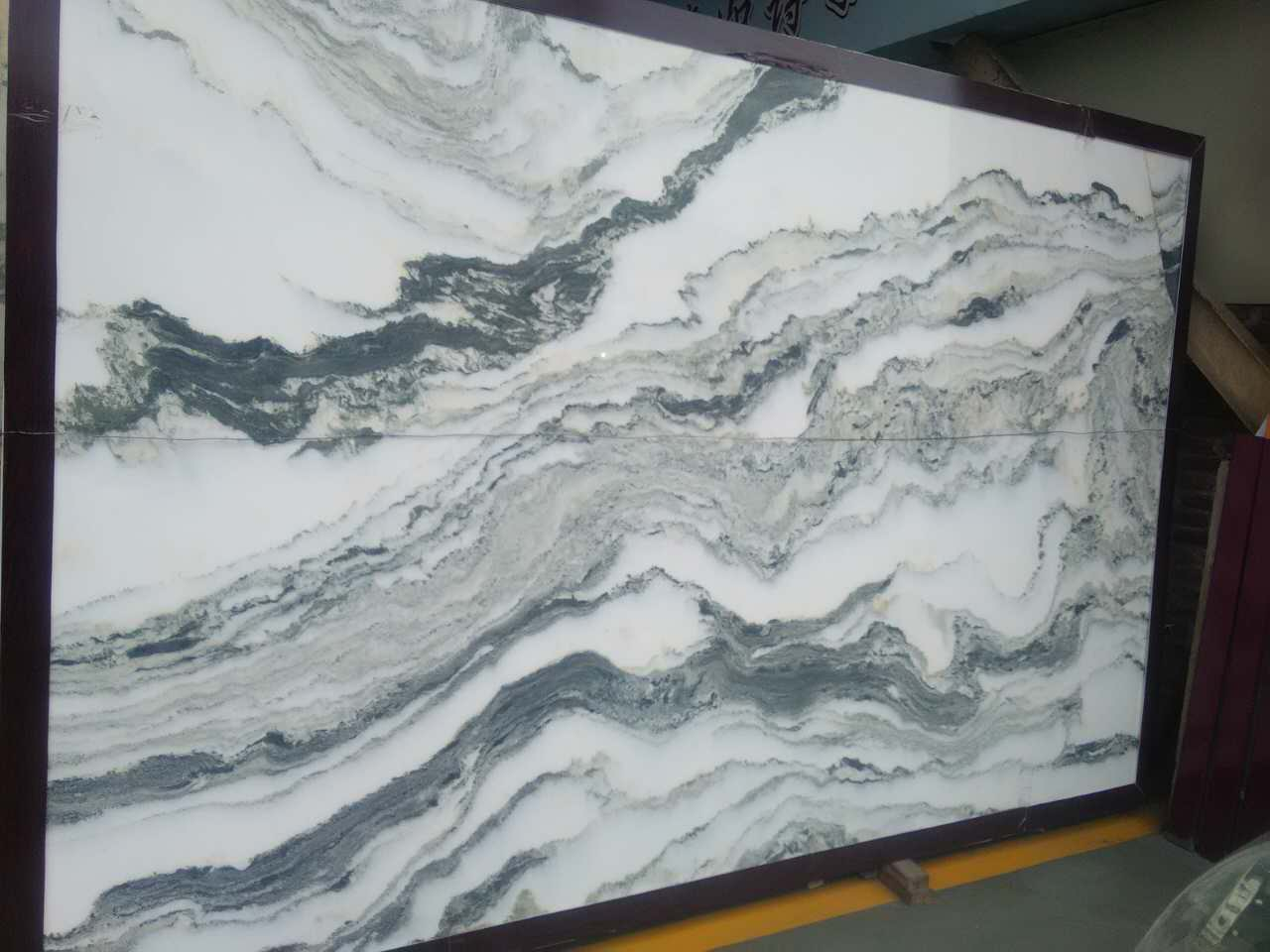 Mountain Green Polished Marble Slabs