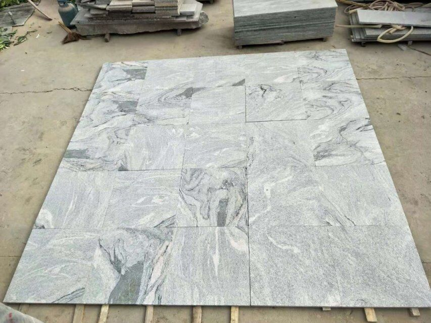 Viscant White Granites for Paving
