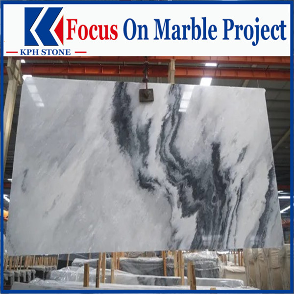 Polished Moutain grey marble