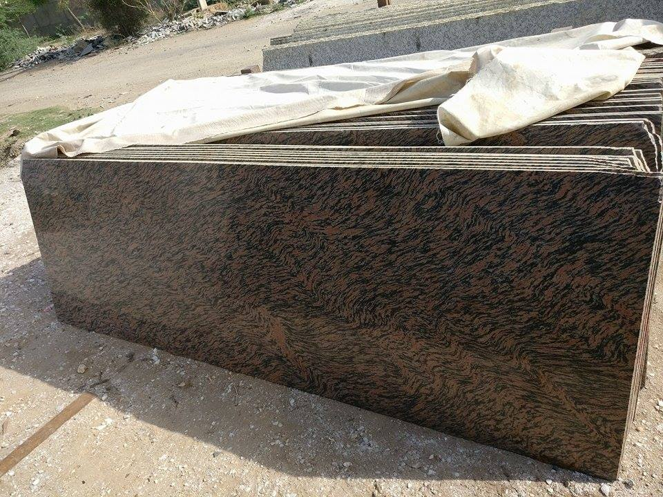 Multi Colour Granite Slabs