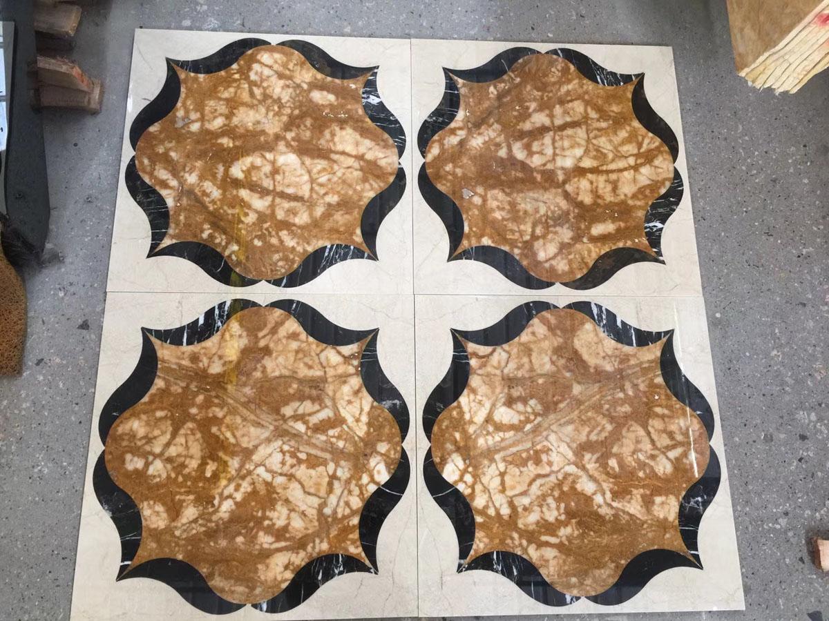 Multicolor Marble Flooring Tiles