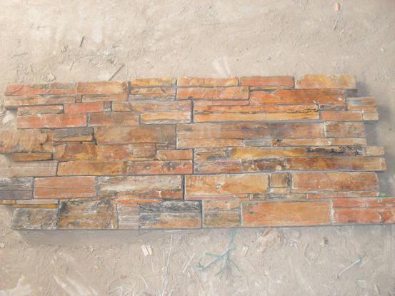 Multicolor Culture Slate with Cement backside