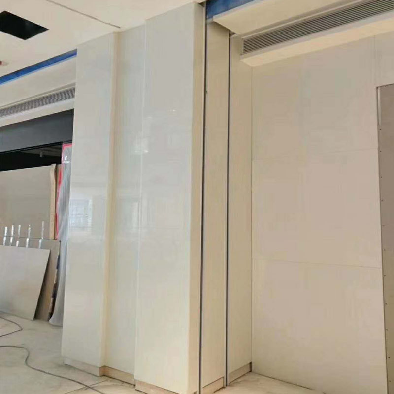 Nano crystallized glass wall