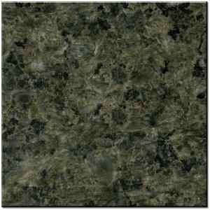 Rock green granite
