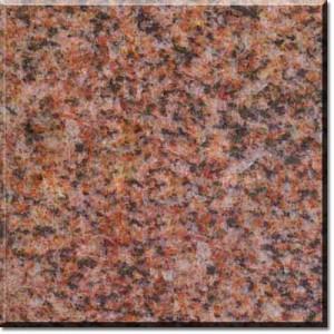 Mainland red granite color