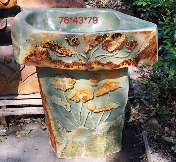Natural Inkstone Washing Tub  Natural stone wash basin