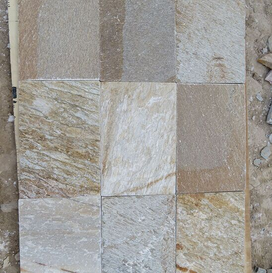 Natural Outdoor Quartzite Stone floor tiles
