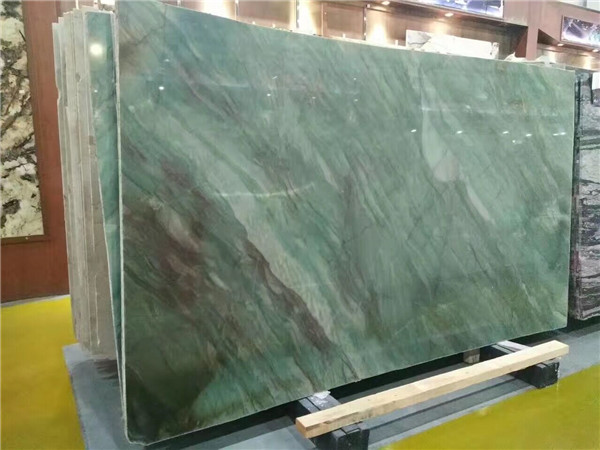Natural Emerald Green Quartzite Slab