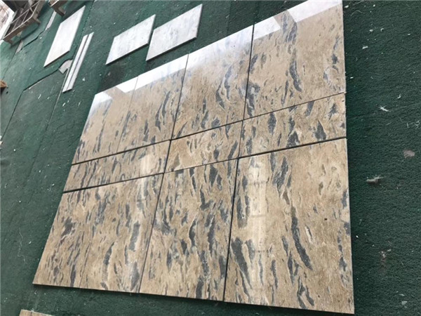 Nature Gold Vein Grey Apolo Marble Tiles