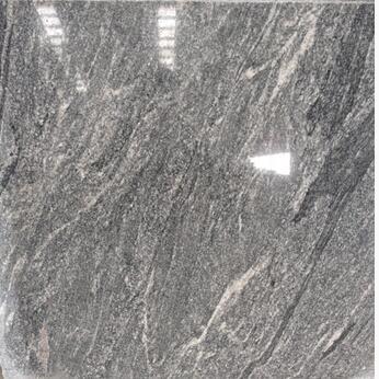 Chinese Nero Santiago Grey Granite Polished tiles