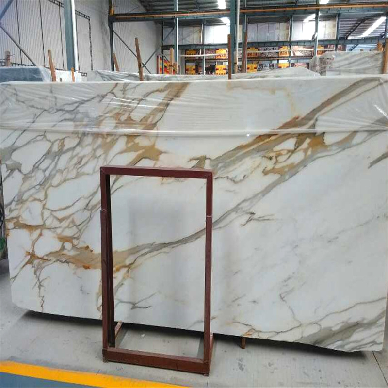 Calcatta White And Gold Marble