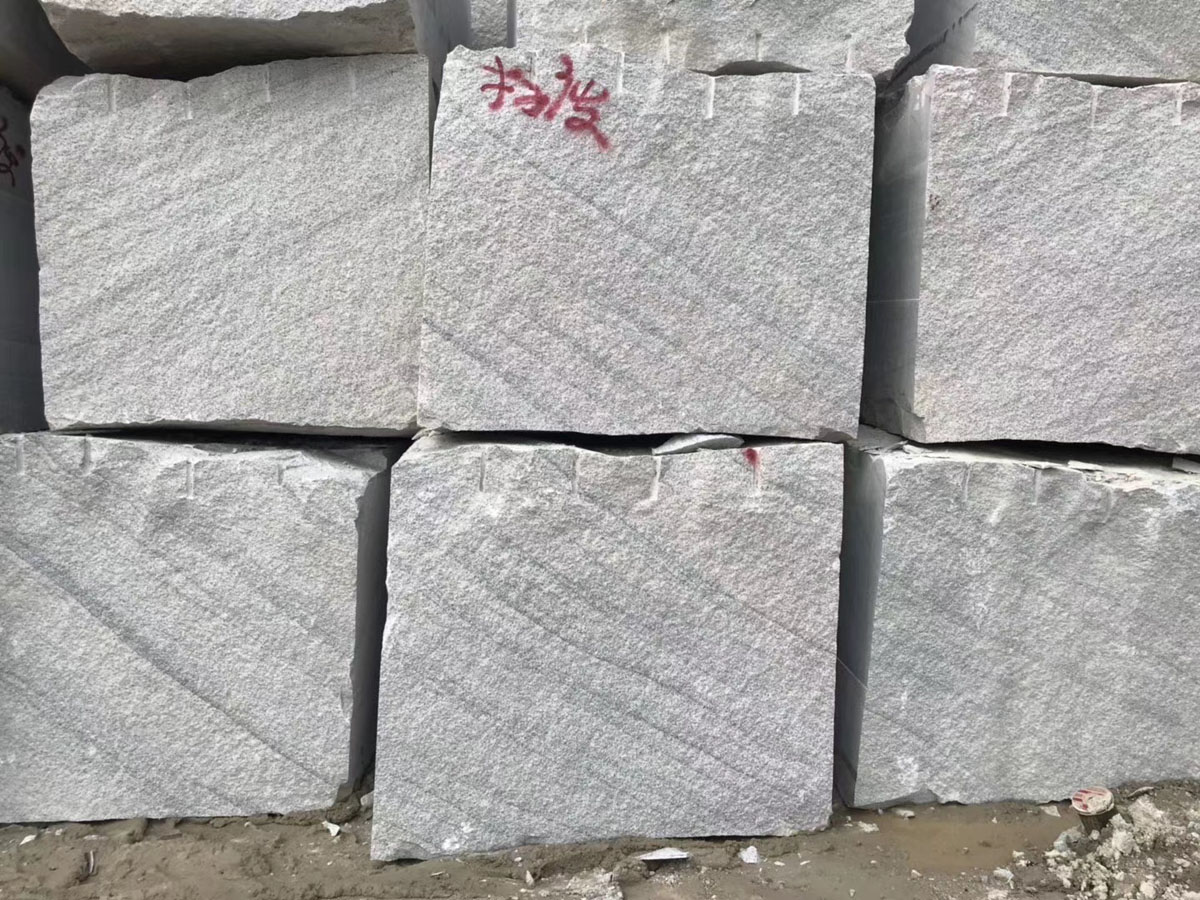 New Viscont White Granite Blocks